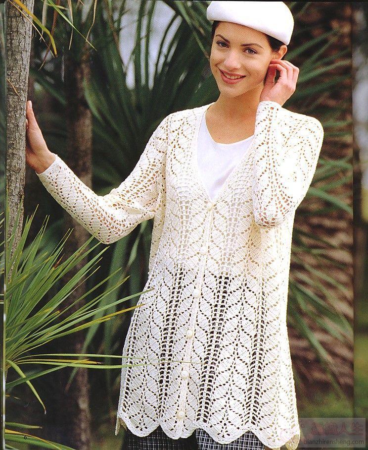 特漂亮的白色长袖衣-----秋天正适合