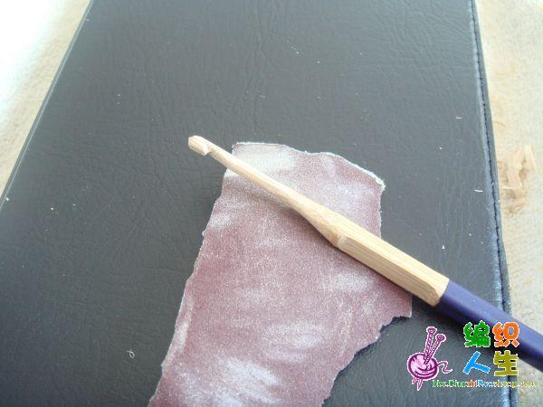 手工钩针的制作过程--黄鹂