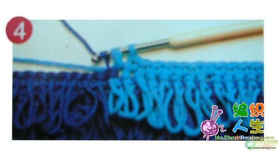 萝卜丝花钩法教程-编织人生移动门户