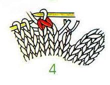 棒针毛衣V领编织方法图解