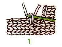 棒针毛衣V领挑针编织教程