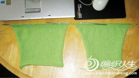 用棒针编织宝宝毛裤的教程图解