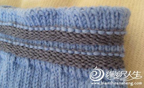 有关毛裤腰部的编织方法