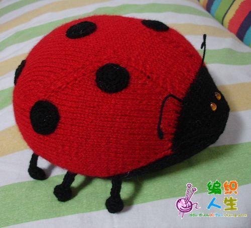 小号瓢虫的编织方法--HM