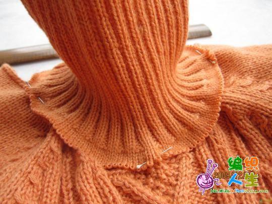 一步步教你缝毛衣领子,像买来的一样哦 原作者《玫瑰小云》