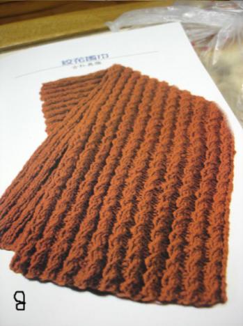 手把手教你围巾编织的方法(图解式的) 适合新手mm