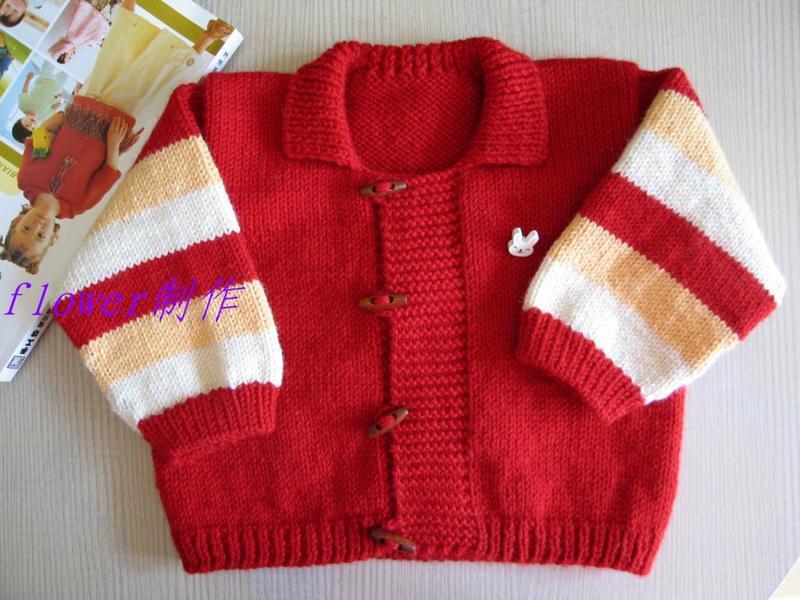 [实例教程]——小熊抱抱红色翻领外套
