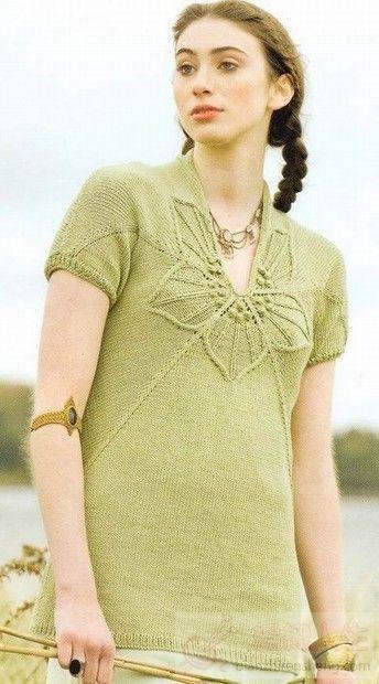 """织出像""""花儿一样""""的衣服"""