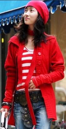长款毛衣怎么搭配最漂亮