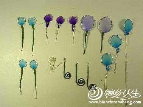 手工丝网花制作美丽的胸花