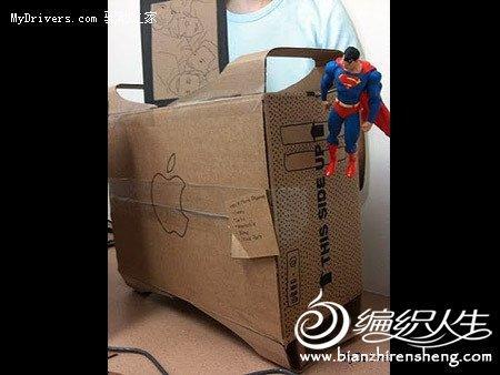 创意手工制作 牛人用包装纸diy各式办公用品