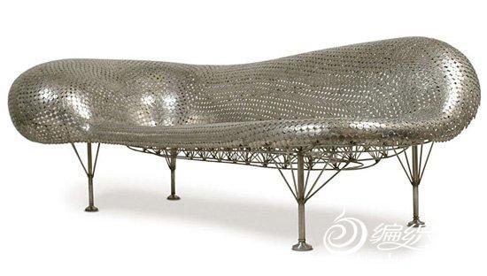 创意手工制作图片 DIY达人用硬币制作的沙发桌椅欣赏