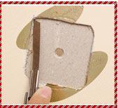 废物利用小制作 月饼盒盖制作个性钟表图解