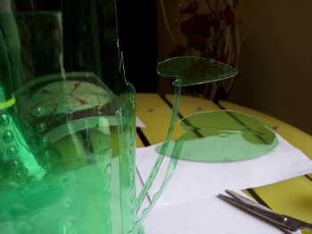 变废为宝diy手工小制作 雪碧瓶制作花瓶图解教程图片