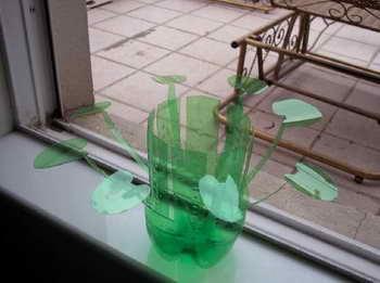 雪碧瓶制作花瓶图解教程