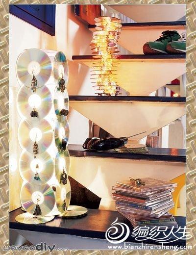 废物利用手工小制作 创意diy个性家居灯饰图片