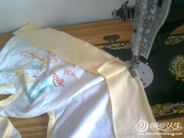 儿童汗衫DIY制作清凉小背心图解教程