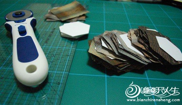 DIY手工制作祖母花园拼布包包图解教程
