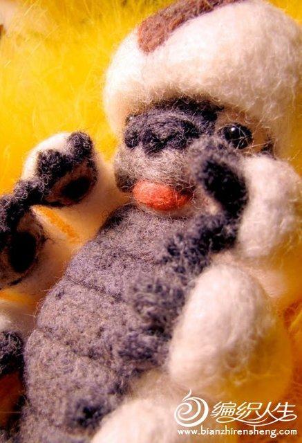 手工制作大师的羊毛毡手工饰品图片欣赏