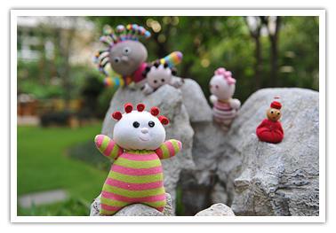 手把手教你制作多种花园宝宝玩偶图解教程