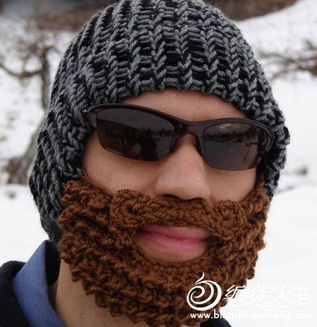 男士毛线帽子演绎另类的冬季