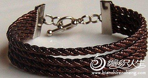手工制作 金属质感的手链