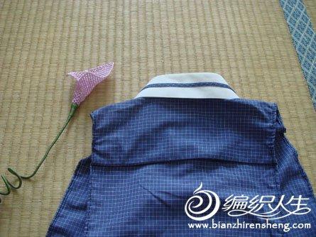 旧物改造 男式衬衫DIY制作个性小围裙教程