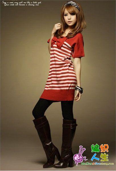 俏丽搭配时尚中国红