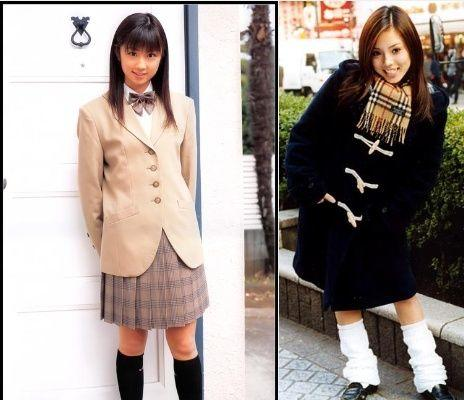 可爱的日本校服