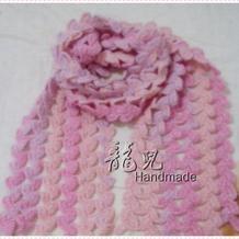 幸运草围巾编织图文教程 毛线编织冬季围巾详细方法