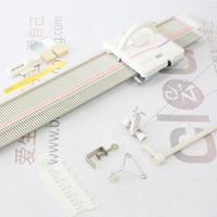 LK150快乐编织机各部分的名称作用及如何开始编织(第二集)