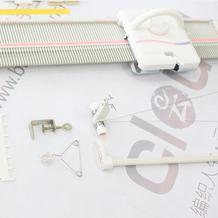 LK150快乐编织机---编织作品的技巧2(第四集)