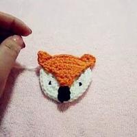 小狐狸装饰钩织小配件视频教程