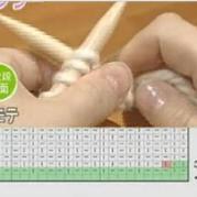 教你看棒针符号图解之围巾篇