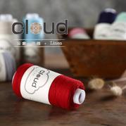 【云素.麻棉】2015新品细扁带麻棉花线 品牌手编毛线编织人生出品