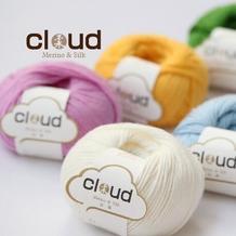 【云柔】新款美丽诺羊毛真丝混纺进口中粗手编毛线编织人生出品