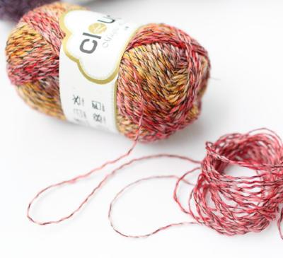 【云蕾】长段染渐变细羊毛蕾丝线 台湾小马海毛蕾丝/编织人生