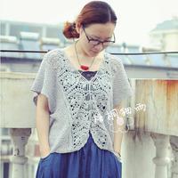夏日宽松蝴蝶短袖衫第一集