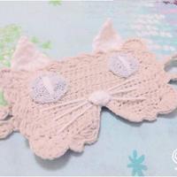 编织趣味居家小物 钩针猫咪眼罩