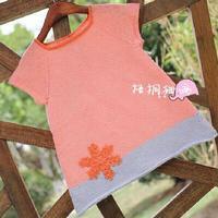 宝宝雪花短袖裙第一集--编织人生零基础视频教程