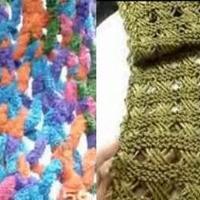 手工编织视频教学围巾系列