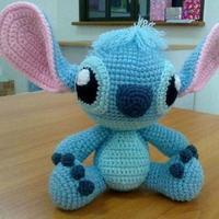 钩针星际宝贝stitch玩偶图解