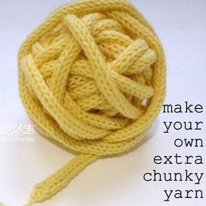 """棒针织毛线绳新用途 变身""""特色毛线"""""""