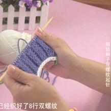 编织人生视频学堂第9集 别锁辫子双螺纹起针