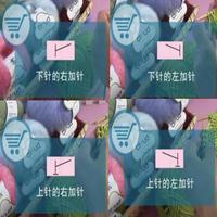 编织人生视频学堂第21集 加针的方法