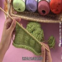 奔驰娱乐视频学堂第62集 休针的往返编织(斜肩编织)