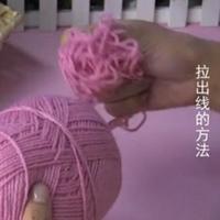 编织人生视频学堂第64集 棒针拉线的方法