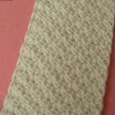 双桂花 教您织围巾 手工编织 第12集 棒针花样围巾花样
