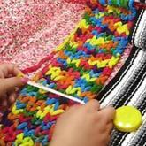 如何计算起针数 编织围巾毛线教程 第17集