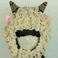 萝卜丝帽子之小羊帽子 134集 编织小屋编织视频教程